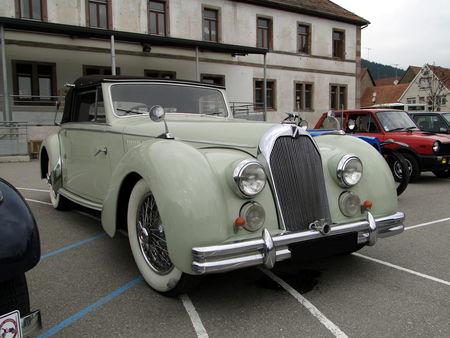 TALBOT Lago T26 Record Cabriolet 1948 1949 Bourse Echanges Autos Motos de Chatenois 2010 1