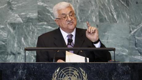 ABBAS A LA TRIBUNE DES NATIONS-UNIES