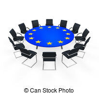 european-union-round-meeting-table-isolated-on-white-background-3d-render-clip-art_csp19187620