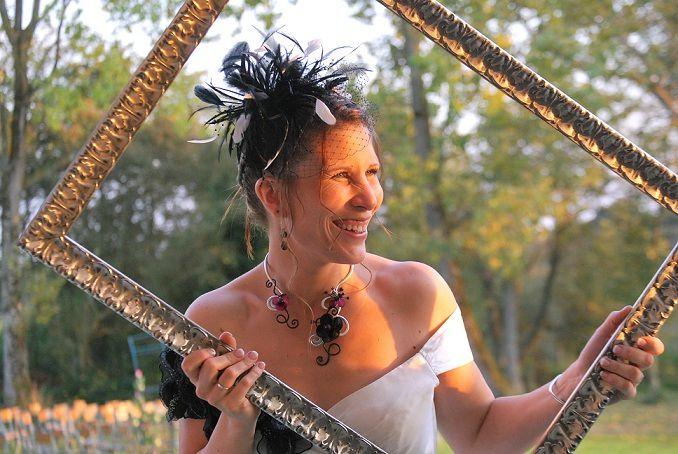 Stéphanie Mariage le 25 septembre 2011