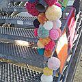 Color moodboard challenge #7 : street art et yarnbombing