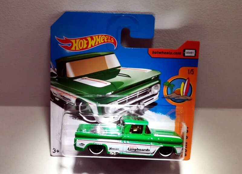 Chevy pick-up custom de 1962 (Hotwheels 2017)