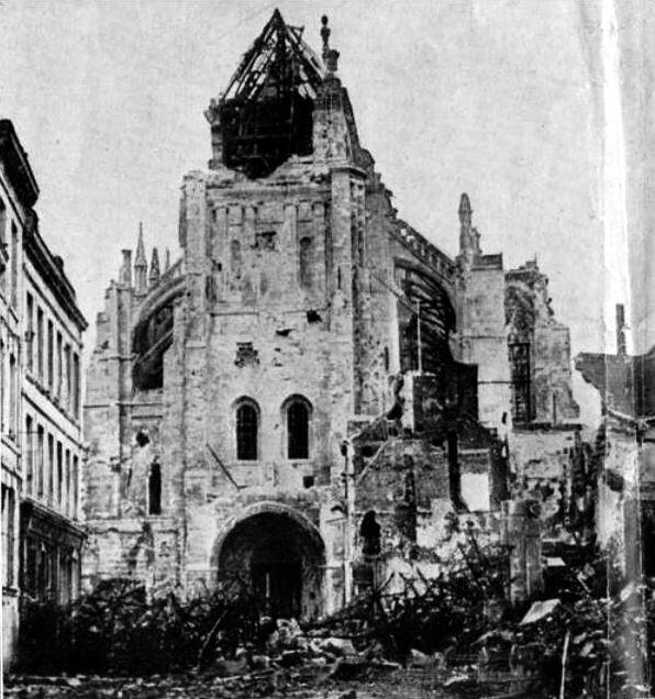 Eglise St quentin 1918