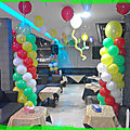 Organisation des anniversaires au maroc- decoration - chateauxgonflables - clown - magie - maquillage -