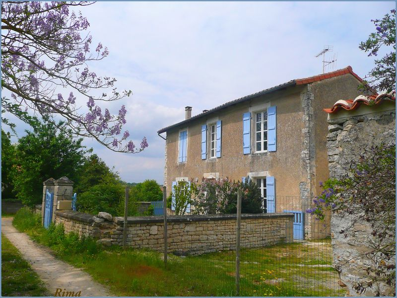Salles de Villefagnan en Charente