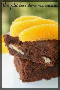 Brownie orange