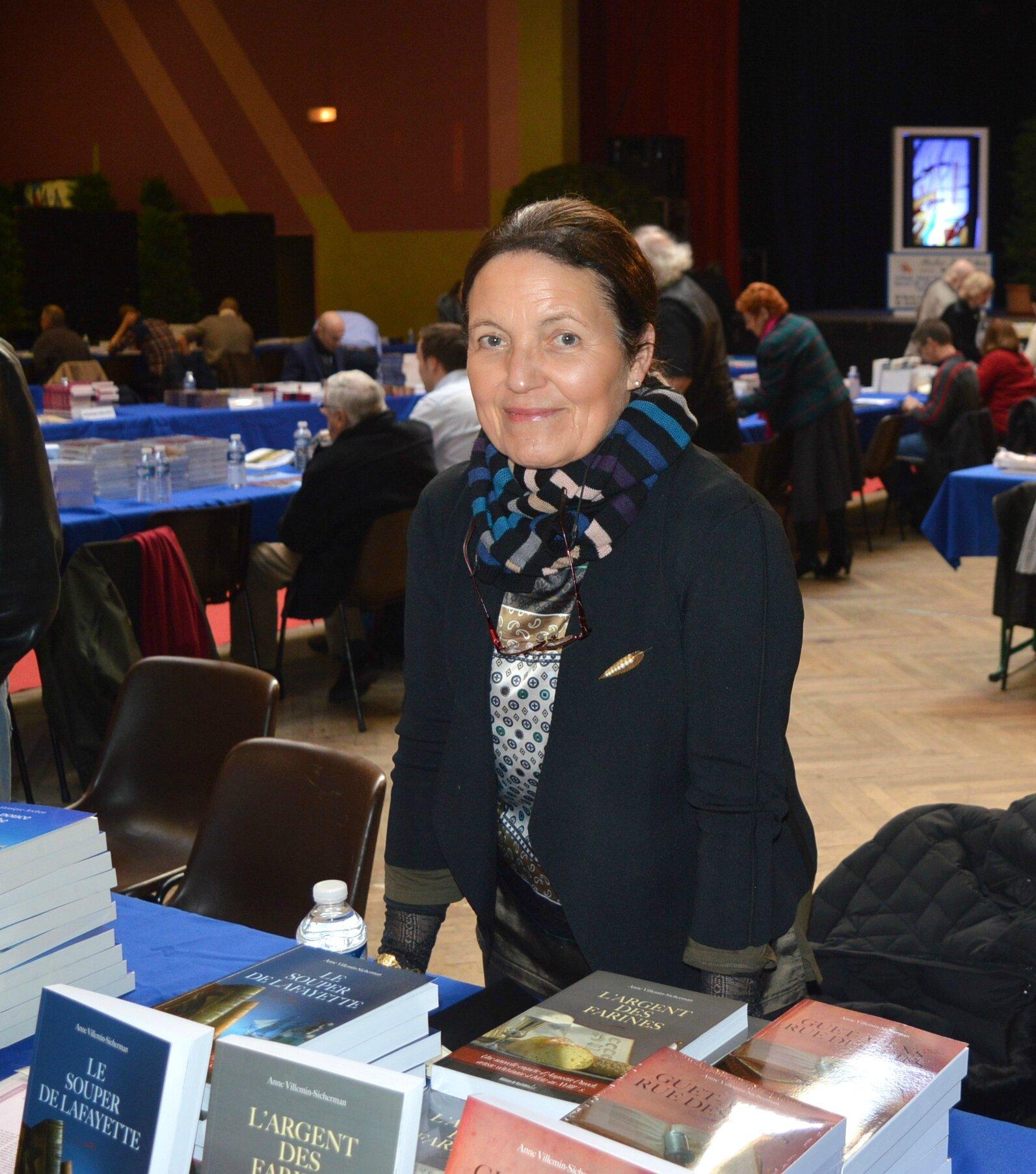 Anne Sichermann présente son 3e roman