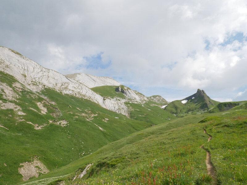 vers le Col du Bonhomme