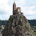 Eglise saint-michel d'aiguilhe - haute-loire
