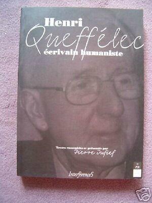 Henri Queffelec par Pierre Dufief