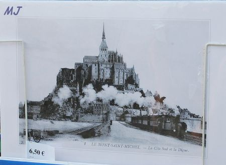 LE TRAIN DU MT ST MICHEL