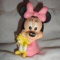 Minnie Mouse Figurine bébé et son jouet (4)