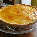 Tarte à l'orange façon grand chef