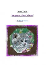 chat en fleurs1ère page