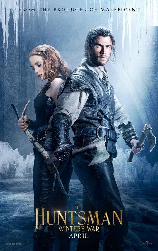 Huntsman Winter's War_The Huntsman and the Warrior poster