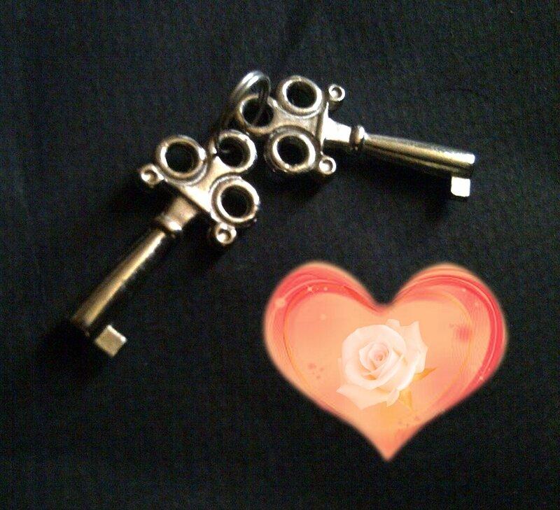clef coeur