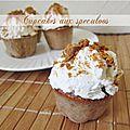 Cupcake aux speculoos