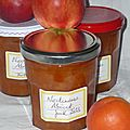 Confiture nectarines abricots