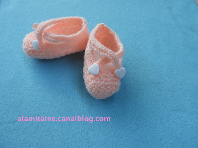 chaussons 164