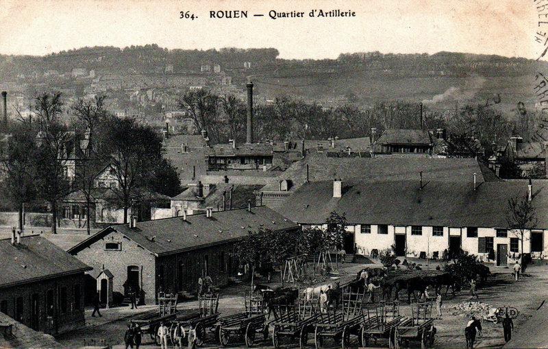 Rouen, Quartier d'artillerie