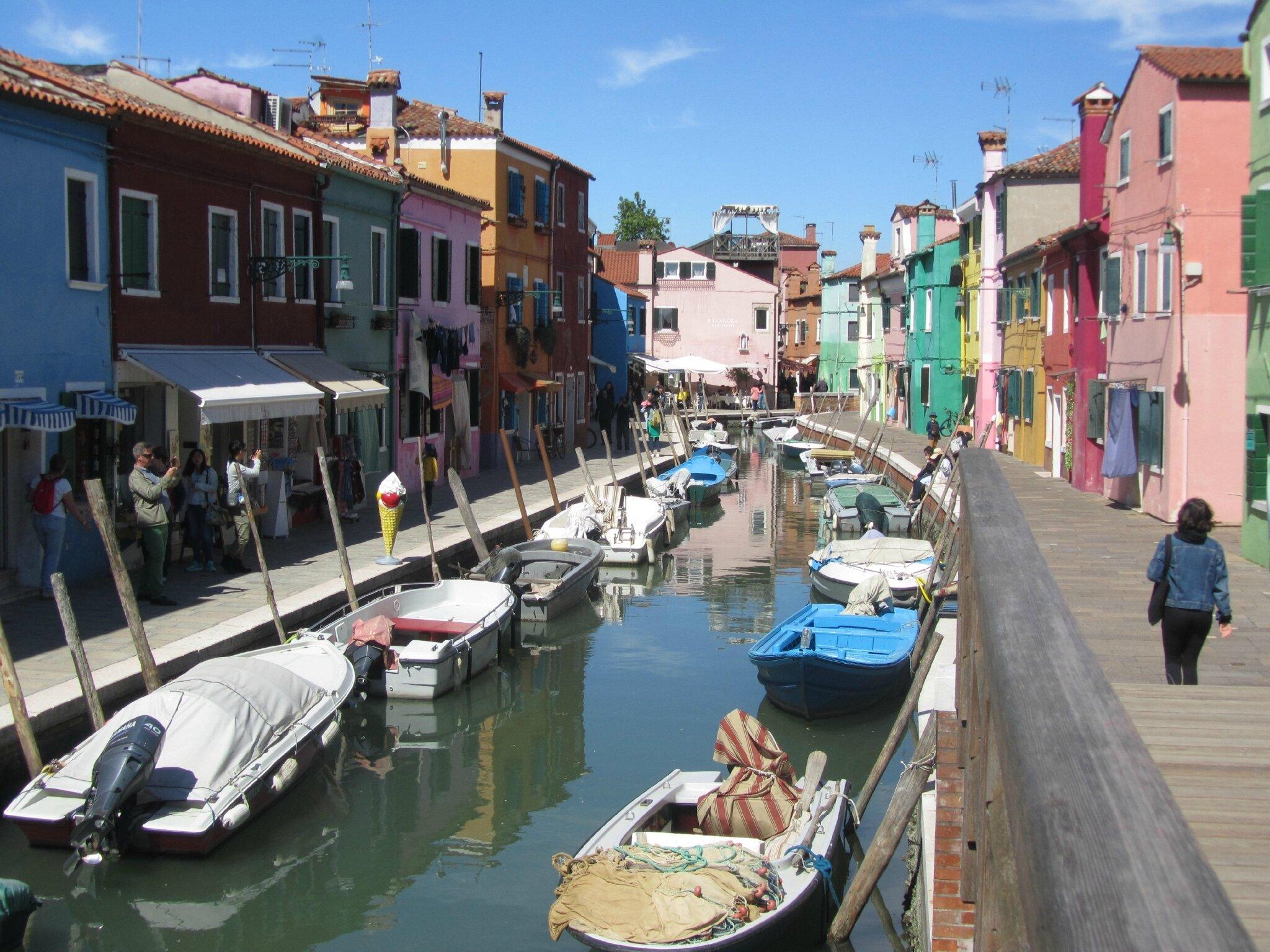 2 mai - Venise : Excursion dans les îles...