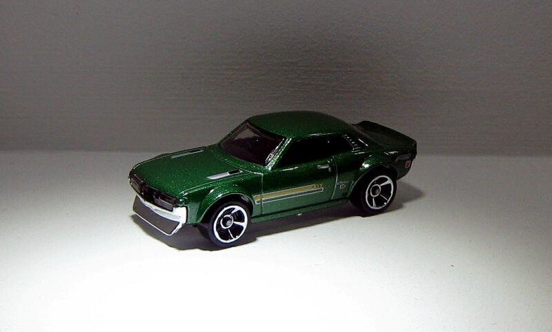 Toyota celica de 1970 (Hotwheels 2012)