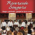 Les riverside singers à l'église notre dame des vignes sassenage