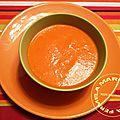 Velouté de poivrons rouges à la féta ww (thermomix)