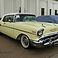 Chevrolet bel air convertible continental kit-1957