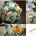 bouquet demoiselle d'honneur ou suite - Copie