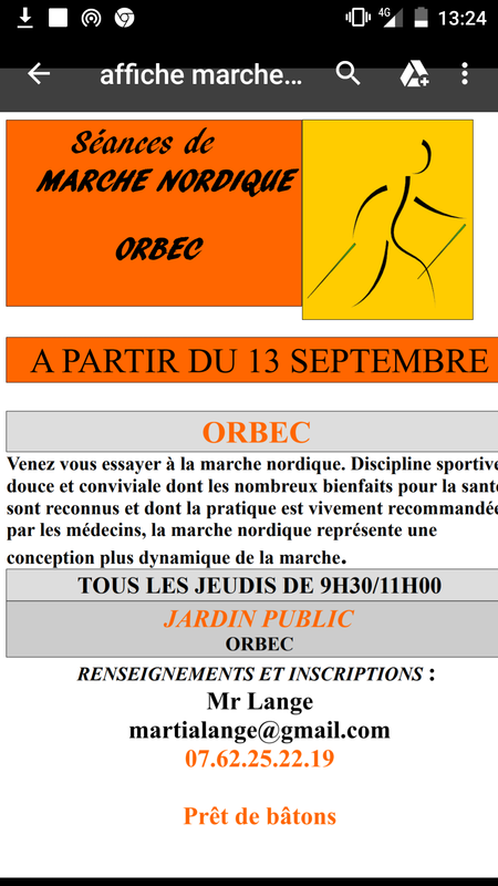 affiche orbec