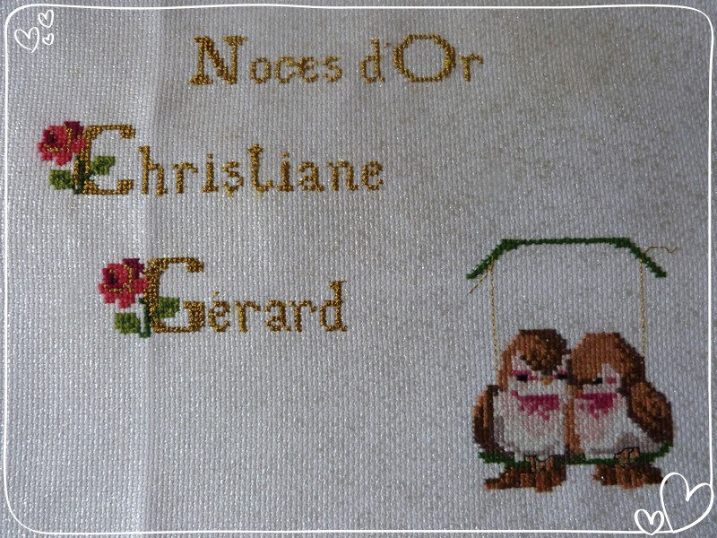 1 Broderie endroit
