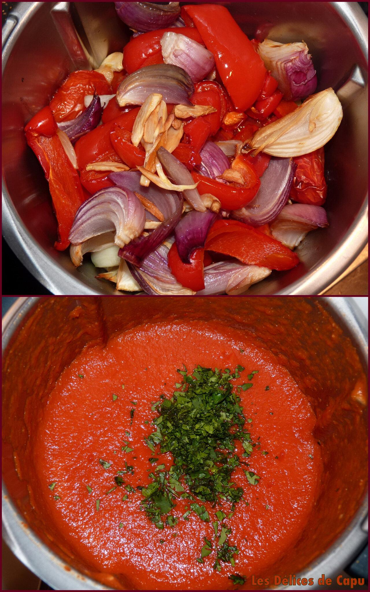 saupe de tomates rôties