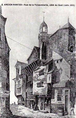Ancien Nantes - Rue de la Poissonnerie