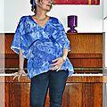 Kimono de grossesse 2 en 1