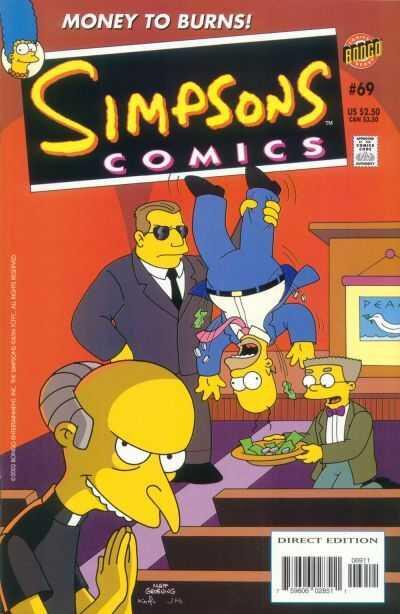 bongo simpsons comics 69