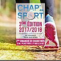 Chap en sport 3éme edition