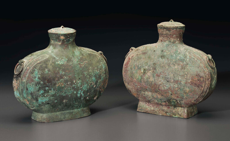 2015_NYR_03720_3187_000(two_bronze_ritual_wine_flasks_and_covers_bianhu_han_dynasty)