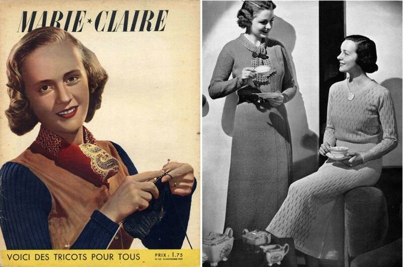 100 Tricot Marie-Claire