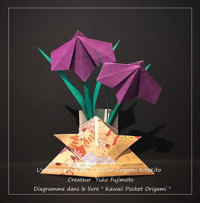 Atelier Origami KitoKito_Poche -Le kabuto(le casque traditionnel des samourai)