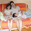 Trio mère et filles...