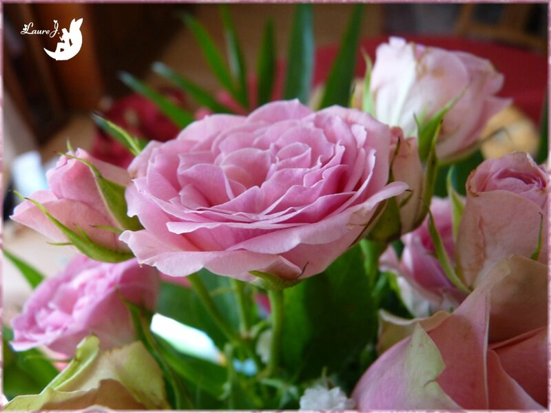 bouquet roses Maman 3