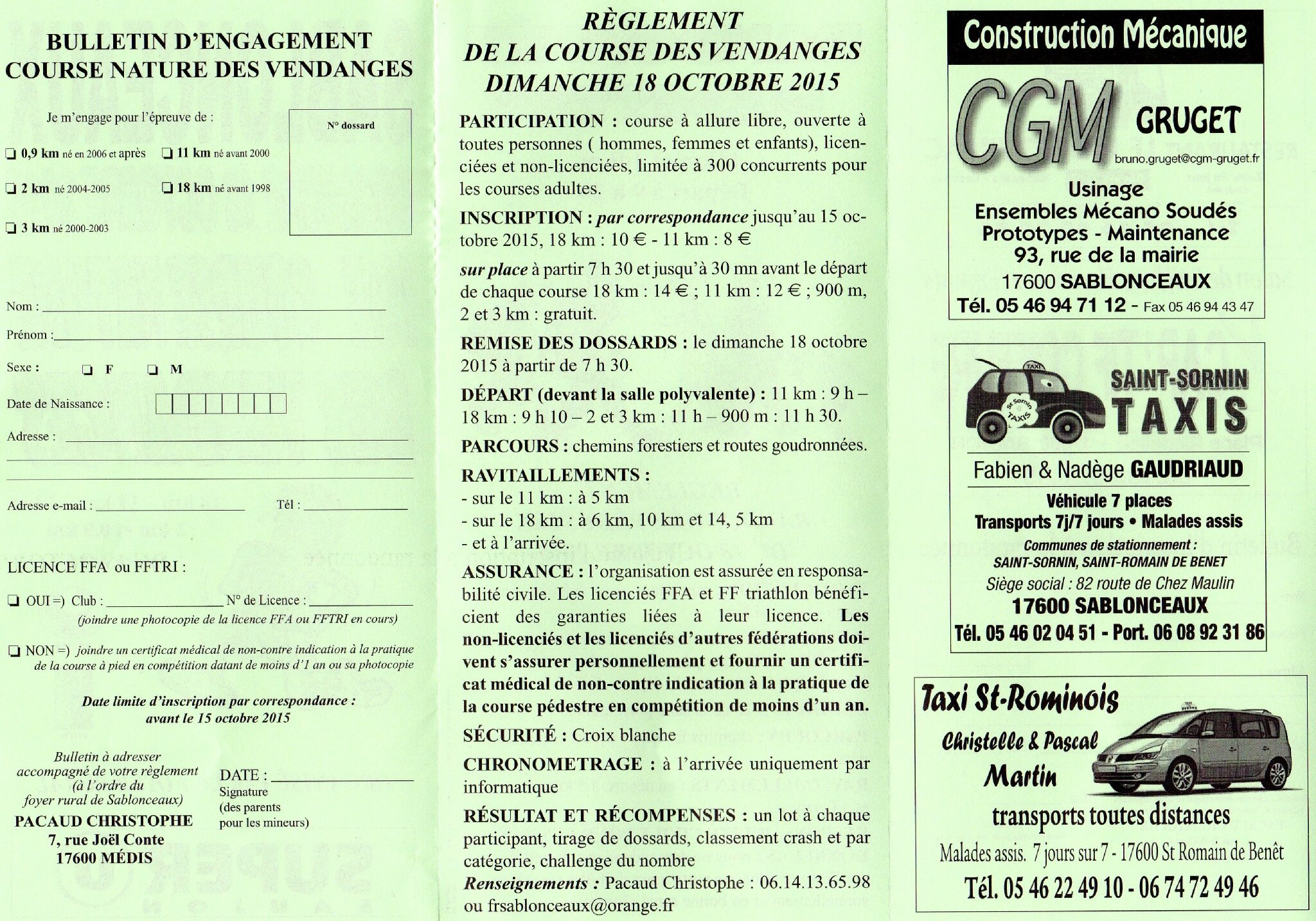 Tract Course_Inscription-Reglement