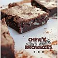 The best chewy brownies