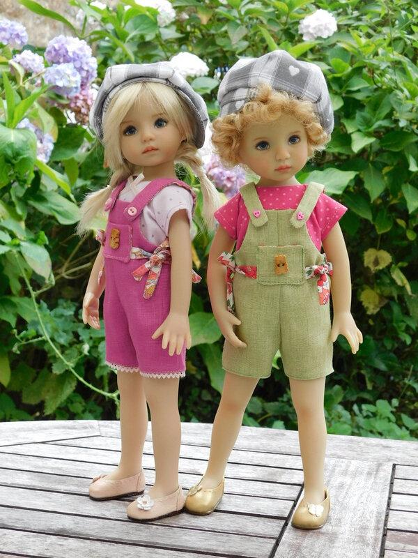 Mes deux blondinettes...