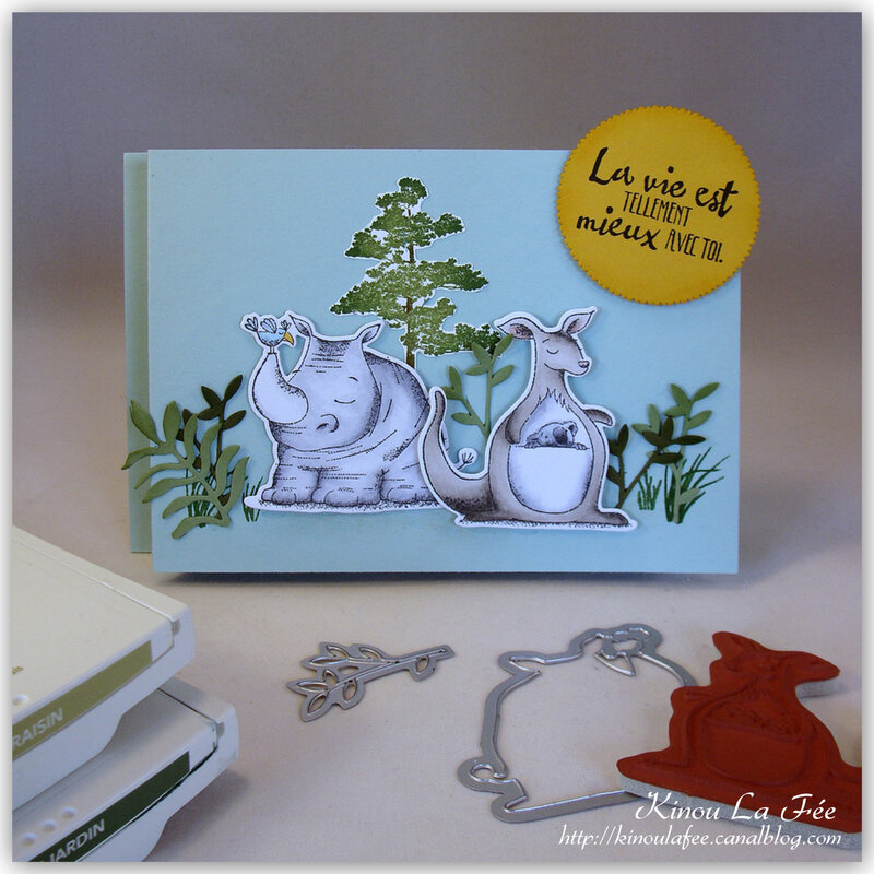 Carte essuie glace duo animaux 1