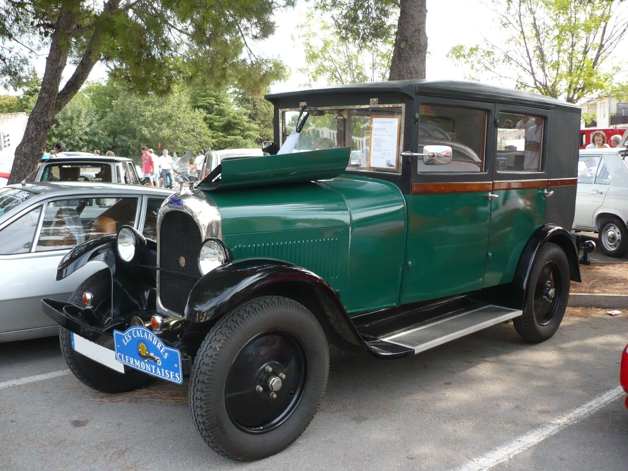 CHENARD & WALCKER Y3 berline 1926 Poussan (1)