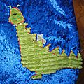 turbulette hiver dragon, knight and dragon winter sleeping bag