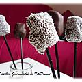 Sucettes pomme cannelle chocolat…pour les petits et grands enfants !!