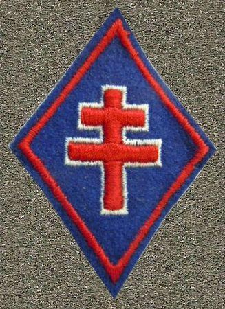 11 Insigne 1ère Division Française Libre